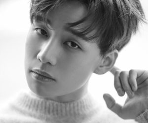 """IM's Kiseok promotional picture for """"Sad Story"""""""