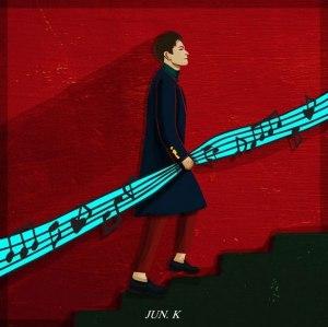 "Album art for Jun.K's album ""My 20's"""