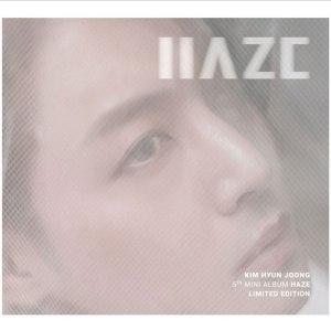 "Album art for Kim Hyun Joong's album ""Haze"""