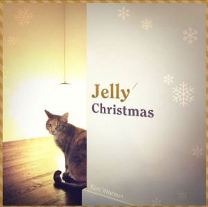 "Album art for Kim Wan Sun's album ""Jelly Christmas"""
