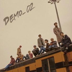 """Album art for Pentagon's album """"Demo_02"""""""