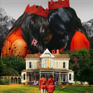 "Album art for Red Velvet's album ""Perfect Velvet"""