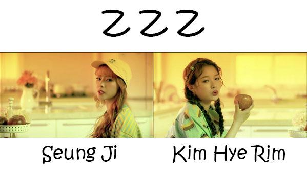 """The members or Lime Soda in the """"Z Z Z"""" MV"""
