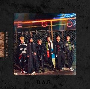 "Album art for B.A.P's album ""EGO"""