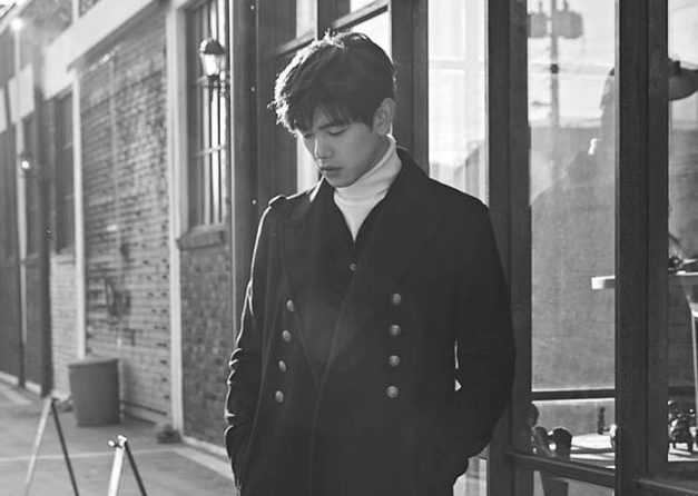 "Eric Nam's promotional picture for ""Hold Me"""