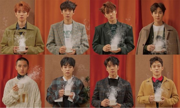 "EXO's promotional picture for ""Universe"""