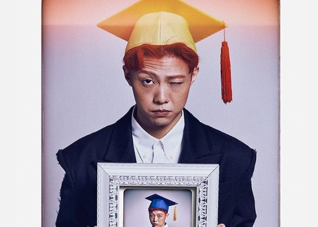"Giri Boy's promotional picture for ""Graduation"""