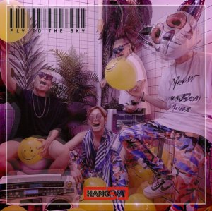 "Album art for HANG5VA's album ""Fly To The Sky"""