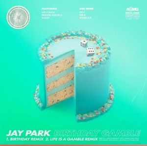 "Album art for Jay Park's album ""Birthday Gamble"""
