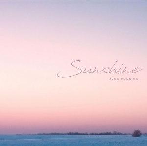 """Album art for Jung Dong Ha's album """"Sunshine"""""""