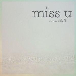 "Album art for Kim Na Young's album ""Miss U"""