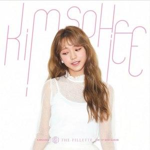"""Album art for Kim Sohee's album """"The Fillette"""""""