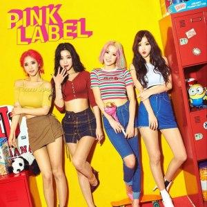 """Album art for Laysha's album """"Pink Label"""""""