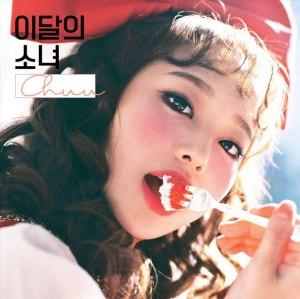 """Album art for LOONA's album """"Chuu"""""""