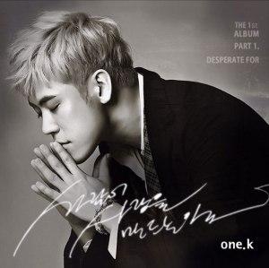 """Album art for One.K's album """"Desperate For"""""""