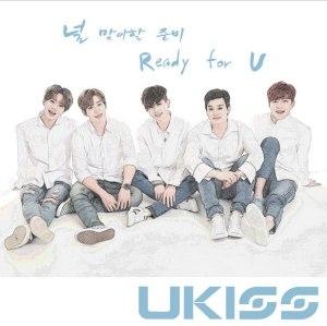 """Album art for U-KISS's album """"Ready For You"""""""