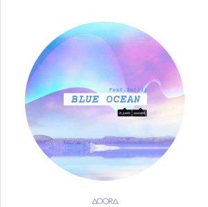 """Album art for AOORA's album """"Blue Ocean"""""""