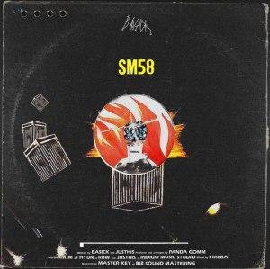 """Album art for Basick's album """"SM58"""""""