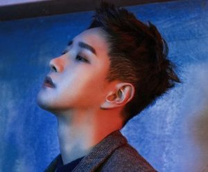 "Block B's B-Bomb promotional picture for ""Re:Montage"""