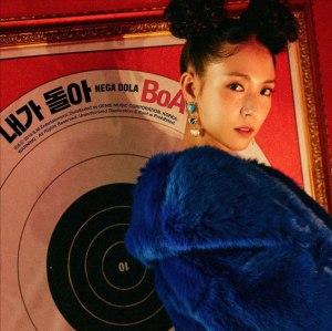 "Album art for BoA's album""Nega Dola"""
