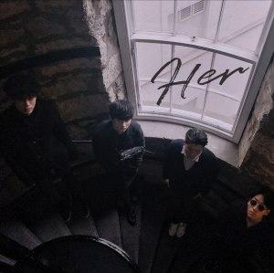 """Album art for Drug Restaurant's album """"Her"""""""