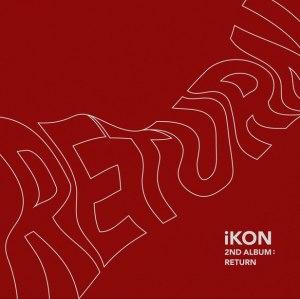 "Album art for iKON's album ""Return"""