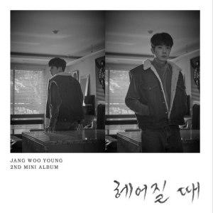 """Album art for Jang Woo Young's album """"Breaking Up"""""""