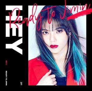 """Album art for Jimin (AOA)'s album """"Hey"""""""