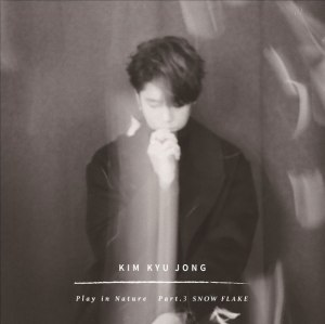 "Album art for Kim Kyu Jong's album ""Play In Nature pt. 3 Snow Flake"""