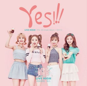 "Album art for Live High's album ""Yes"""