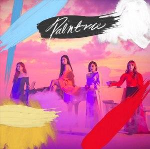 """Album art for MAMAMOO's album """"Paint Me"""""""