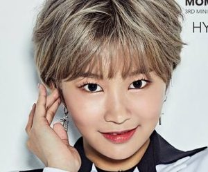 "Momoland's Hyebin promotional picture for ""Great"""