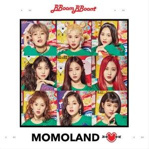 """Album art for MOMOLAND's album """"Great!"""""""