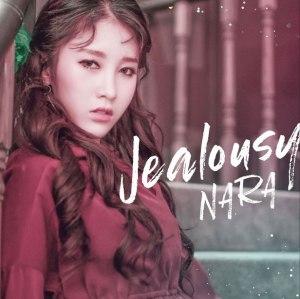 """Album art for Nara's album """"Jealousy"""""""