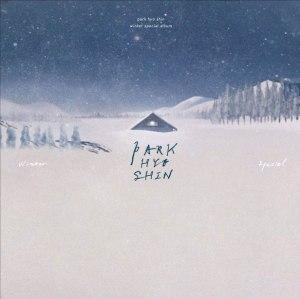 """Album art for Park Hyo Shin's album """"Sounds Of Winter"""""""