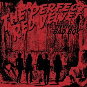 "Album art for Red Velvet's album ""The Perfect Red Velvet"""