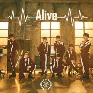 """Album art for Target's album """"Alive"""""""