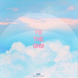 """Album art for CLC's pre-release album """"To The Sky"""""""