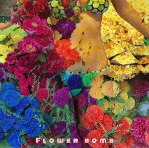 "Album art for Jero's album ""Flower Bomb"""
