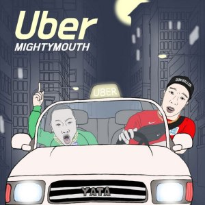 "Album art for Mighty Mouth's album ""Uber"""