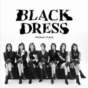 """Album art for CLC's album """"Black Dress"""""""