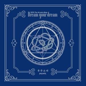 """Album art for Cosmic Girls album """"Dream Your Dream"""""""
