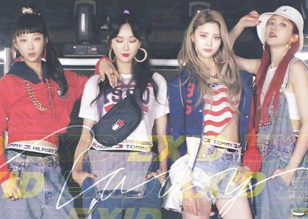 "EXID's ""Lady"" promotional picture."