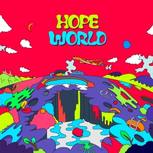 "Album art for J-Hopes album ""Hope World"""