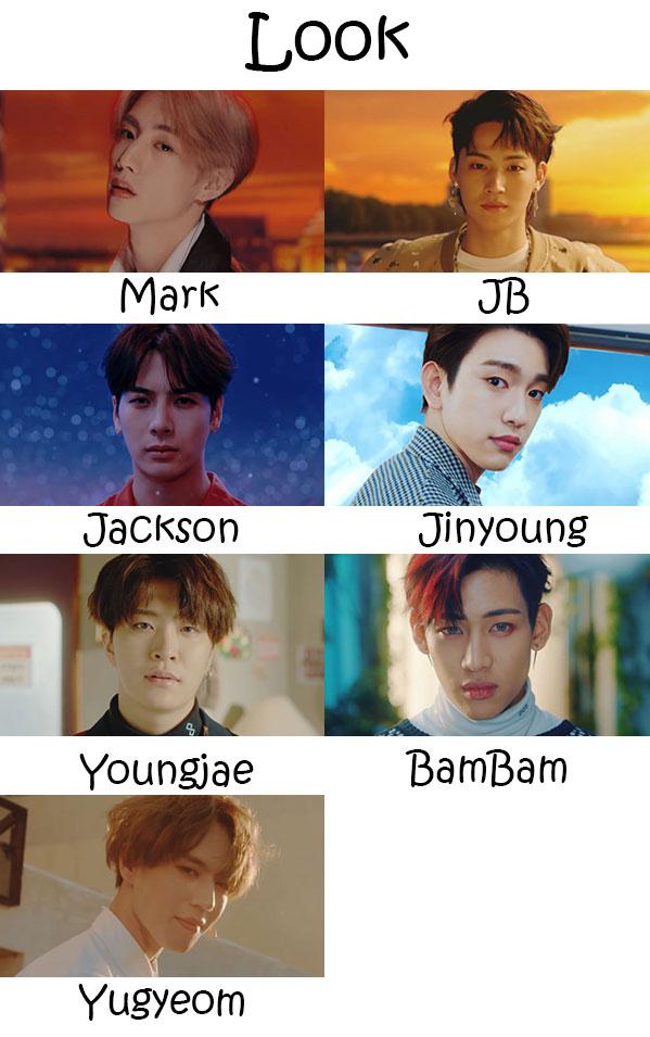 GOT7 Look Who's Who | KpopInfo114