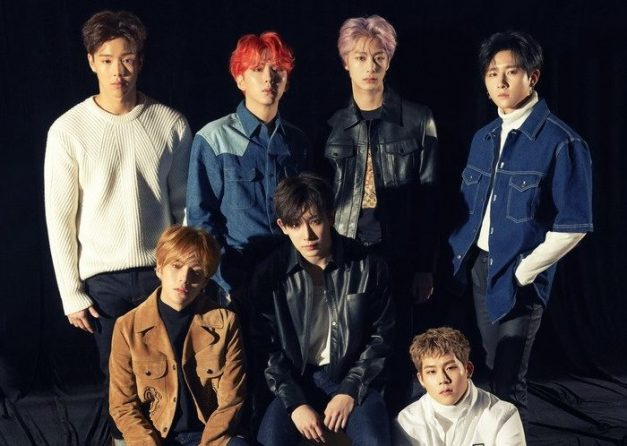 "Monsta X's ""The Connect"" promotional picture."