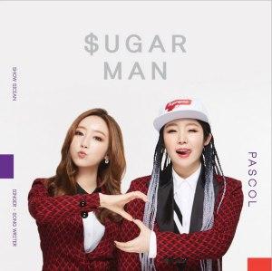 """Album art for Pascol's album """"Sugar Man"""""""