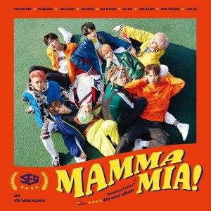 """Album art for SF9's album """"Mamma Mia"""""""