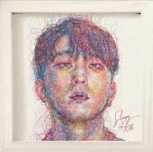 """Album art for Sleepy's album """"Identity"""""""