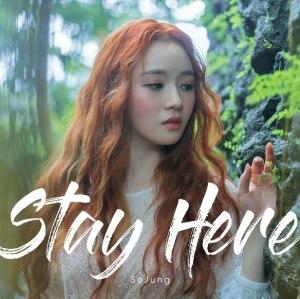 "Album art for So Jung's album ""Stay Here"""